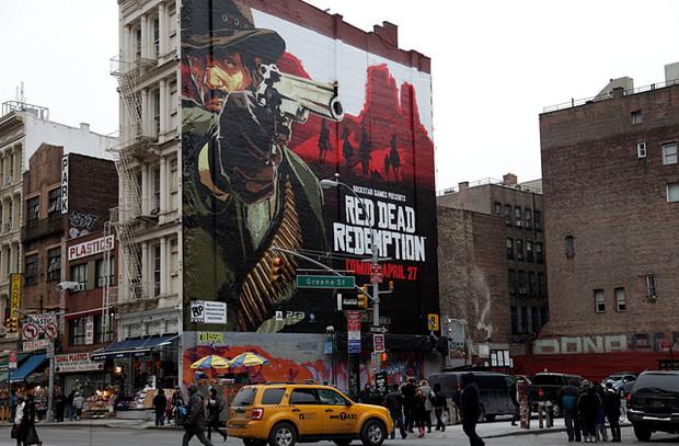Red Dead Redemption, Manhattan conosce il Far West